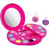 Детская декоративная косметика Bondibon Eva Moda с 2 лаками для ногтей, 10 г., розовая
