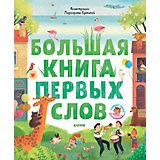"""Книга-игра """"Первые книжки малыша"""" Большая книга первых слов"""