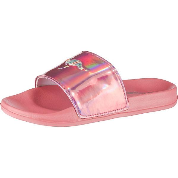 check out 96094 2cf0b Badelatschen K-Slide Kids Weite M für Mädchen, KangaROOS