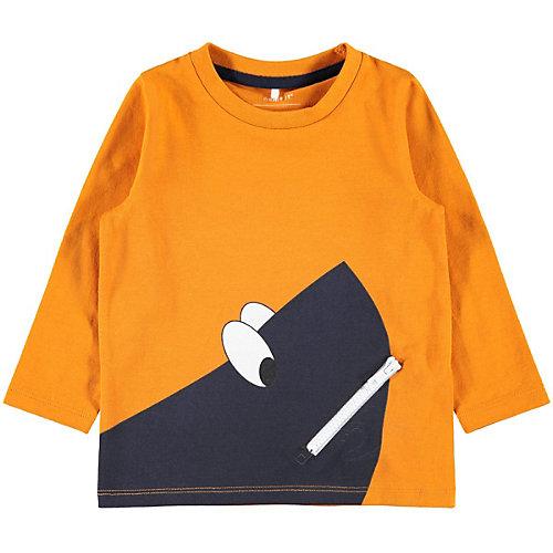 Лонгслив Name It - оранжевый от name it