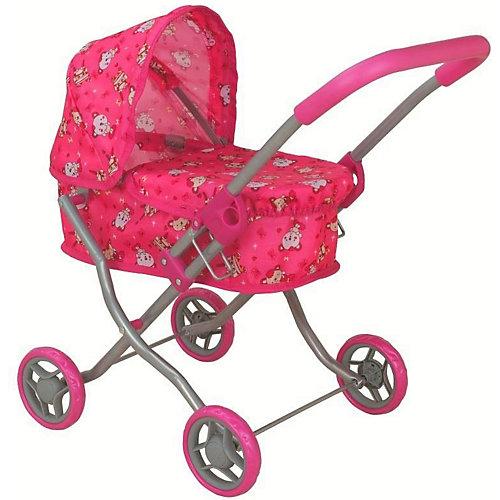 Коляска для кукол Buggy Boom Mixy, розовая от Buggy Boom