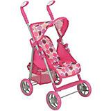 Коляска для кукол Buggy Boom Skyna, розовая