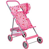 Коляска для кукол Buggy Boom Mixy, светло-розовая