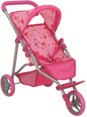 Коляска для кукол Buggy Boom Nadin, светло-розовая