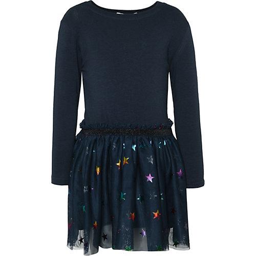 NAME IT Kinder Jerseykleid NMFJASMIN mit Tüllrock Gr. 92 Mädchen Kleinkinder   05713746534139