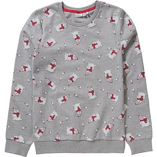 NAME IT Kinder Weihnachtspullover NKNREIN Gr. 122/128 | 05713752088169