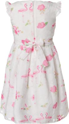 Bekleidung Salt And Pepper Madchen Kleid Dress Flamingo
