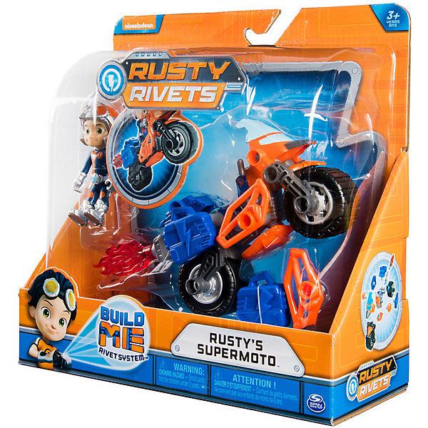 Игровой набор Spin Master Rusty Rivets Построй супермотоцикл Расти