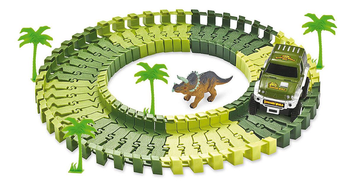 Magic Traxx Dino-Park mini, mit Überrollfunktion 54-teilig