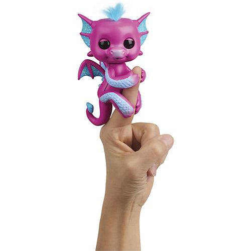 Интерактивный дракон WowWee Fingerlings Сенди, 12 см от WowWee