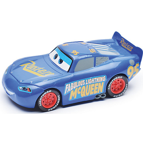 Машина на р/у Disney Тачки 3: Молния Маккуин, 13 см, син. от Disney
