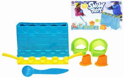 Набор для лепки замков из снега 1Toy, 7 предметов