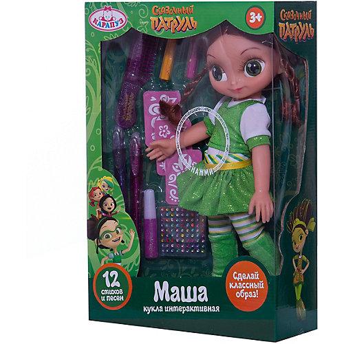 """Кукла Карапуз """"Сказочный патруль"""" Маша с набором волос, 33 см от Карапуз"""