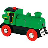 Поезд BRIO со светом, зеленый
