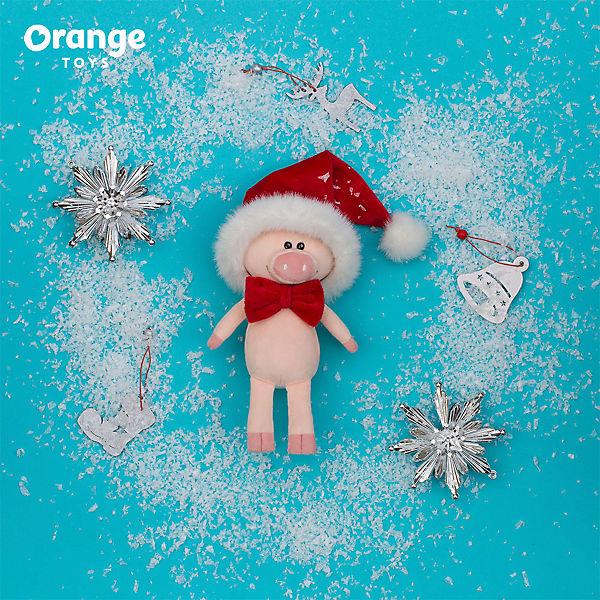 Мягкая игрушка Orange Поросёнок Сантик, 15 см
