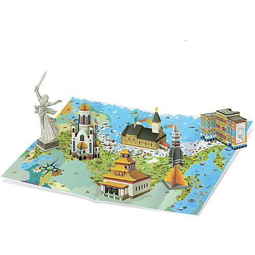 Книга для чтения и моделирования (+ карта-суперобложка). Достояния России. от ГеоДом