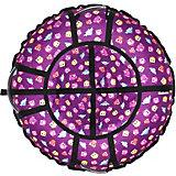 Тюбинг Hubster Люкс Pro Совята фиолетовые (80см)