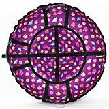Тюбинг Hubster Люкс Pro Совята фиолетовые (105см)