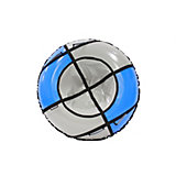 Тюбинг Hubster Sport Pro синий-серый (90см)