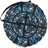 Тюбинг Hubster Люкс Pro Молнии синие (120см)
