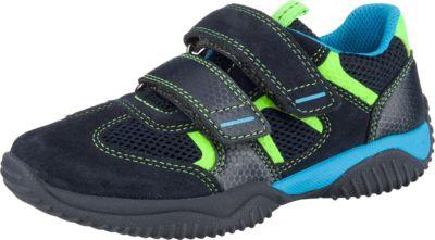 Superfit Halbschuh Gr. 30 blau, grün