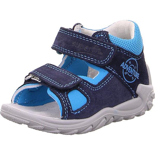 Superfit Jungen Sandale blau