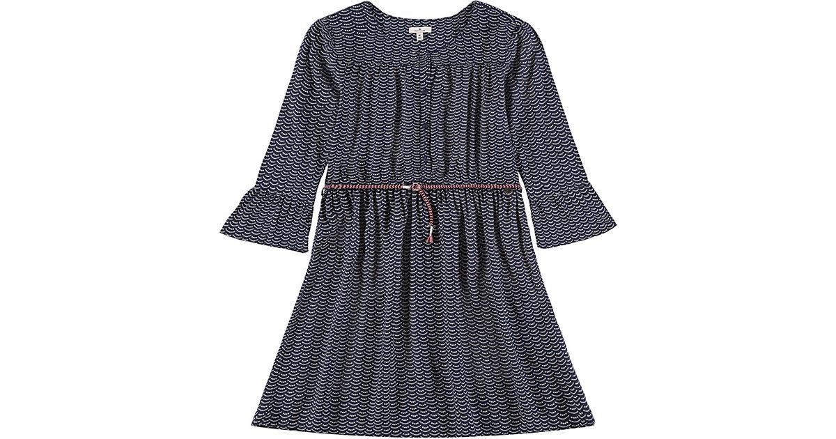 TOM TAILOR · Kinder Kleid mit Gürtel Gr. 140 Mädchen Kinder