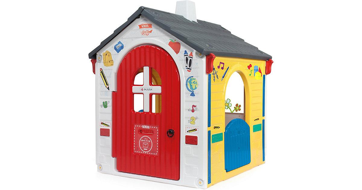 Spielhaus Country Playhouse mit eLearning weiß