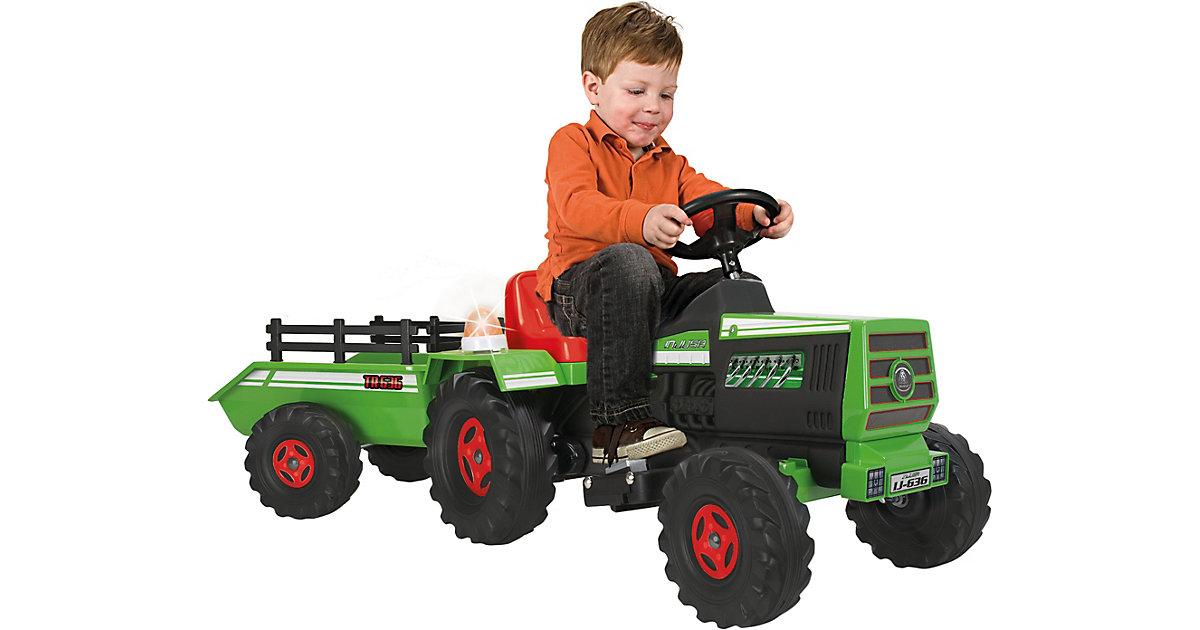 Elektro Traktor Basic, grün
