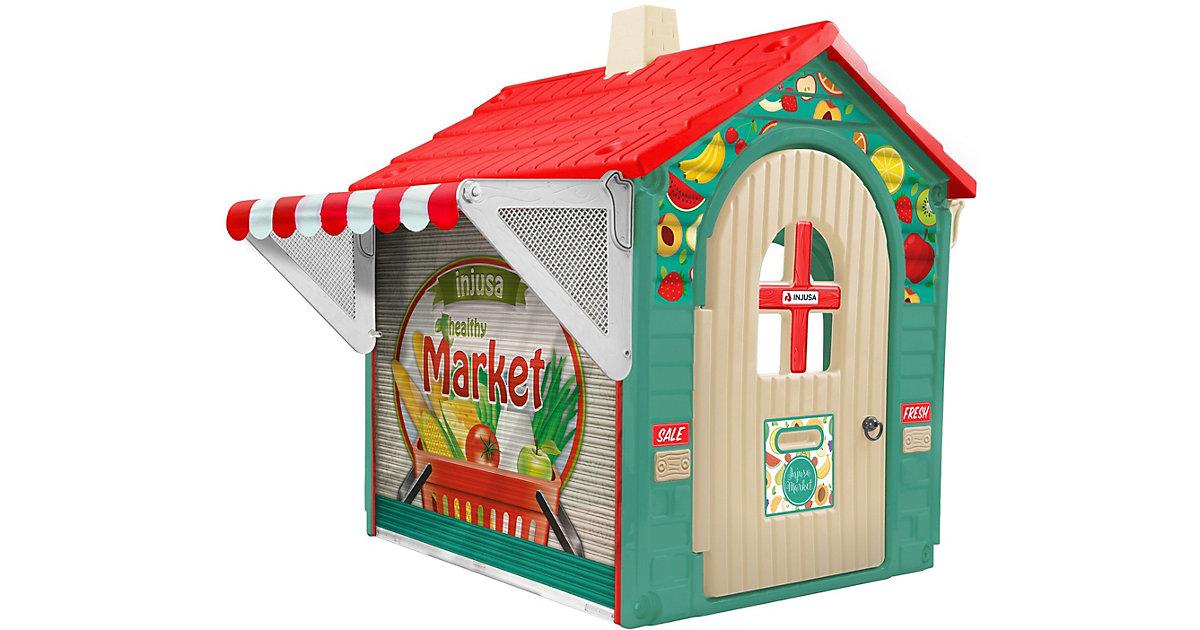 Spielhaus Market House mit eLearning grün