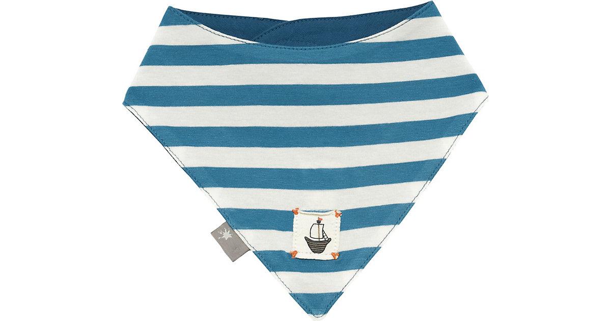 Baby Dreieckstuch zum Wenden  blau Gr. one size Jungen Kinder