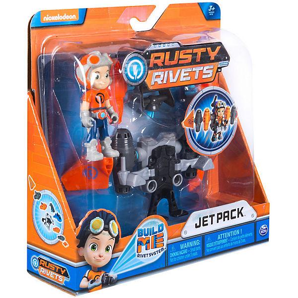 Большой строительный набор Spin Master Rusty Rivets Расти и реактивный ранец