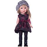 """Кукла Vestida de Azul """"Весна Лондон"""" Паулина блондинка в шляпке, 33 см"""