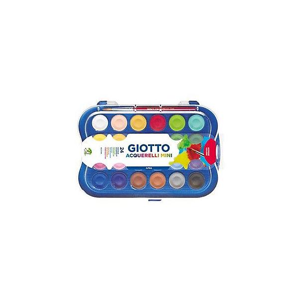 "Набор сухой акварели Giotto ""Colour Blocks Mini"", 24 цвета"