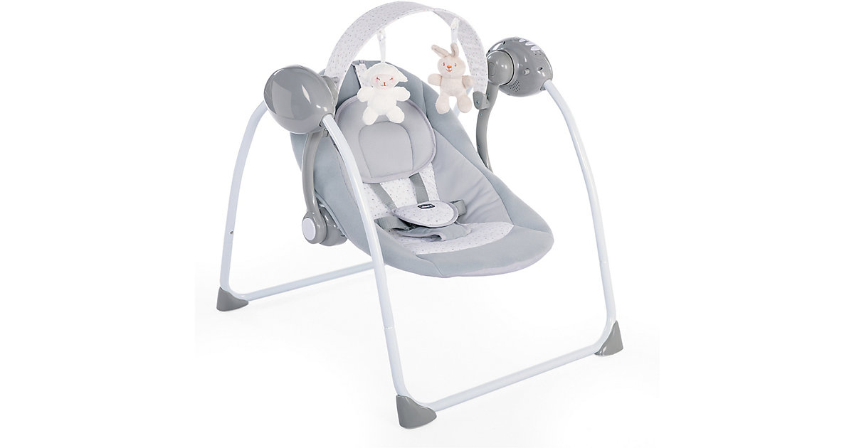 Chicco · Babyschaukel Relax & Play, Cool Grey