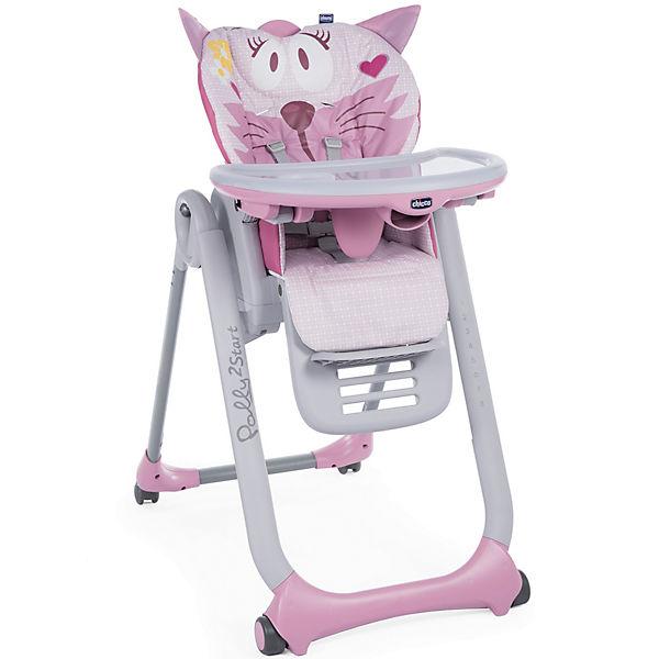 Стульчик Chicco Polly 2 Start, miss pink
