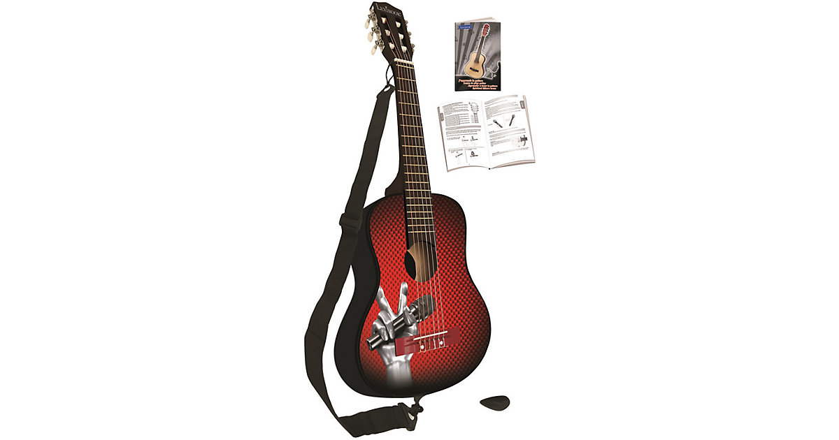 LEXIBOOK · The Voice: Akustik-Gitarre, 78 cm