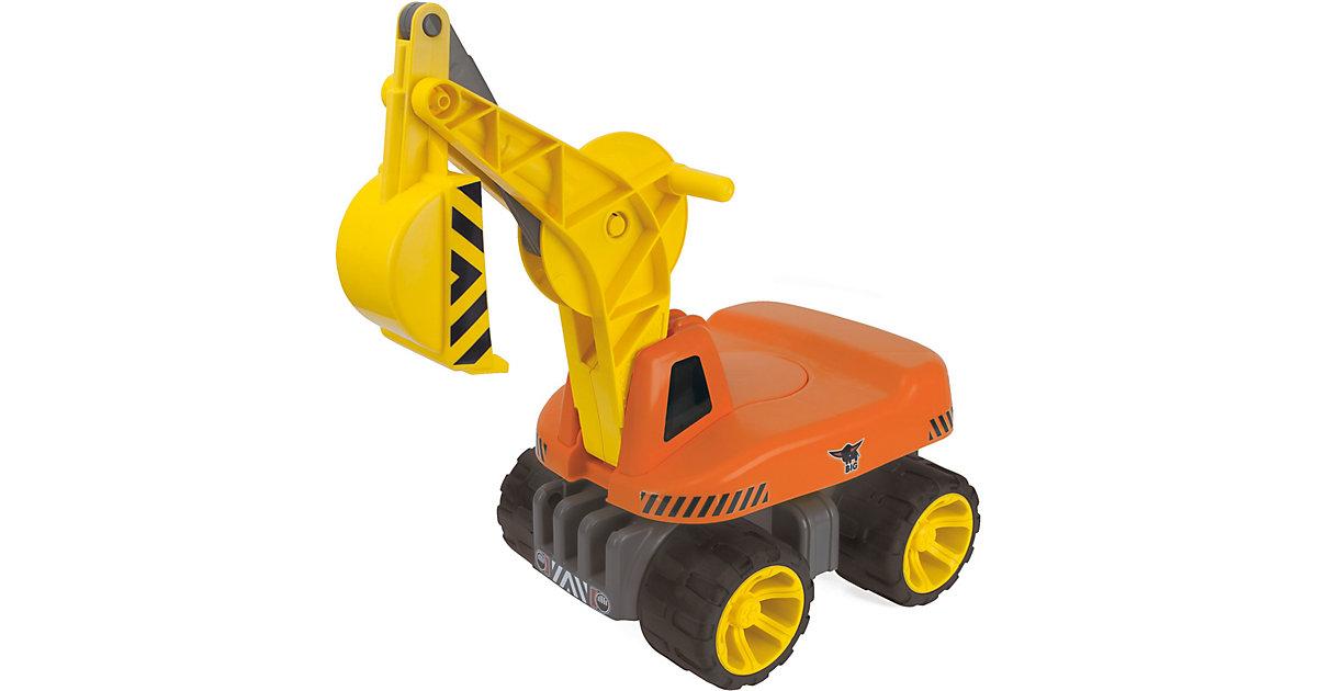 Power Worker Maxi Digger Schaufelbagger orange/gelb | Garten > Gartengeräte > Spaten und Schaufeln | BIG