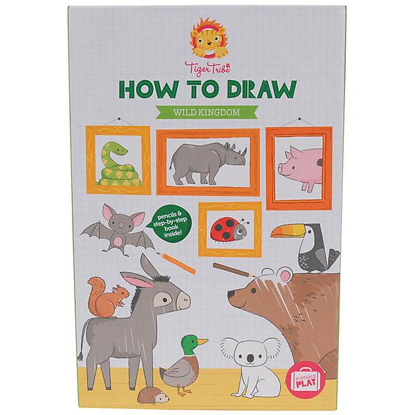 "Учимся рисовать Tiger Tribe ""Царство диких животных"""