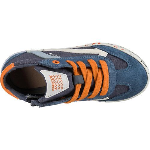 Кеды GEOX - синий/оранжевый от GEOX