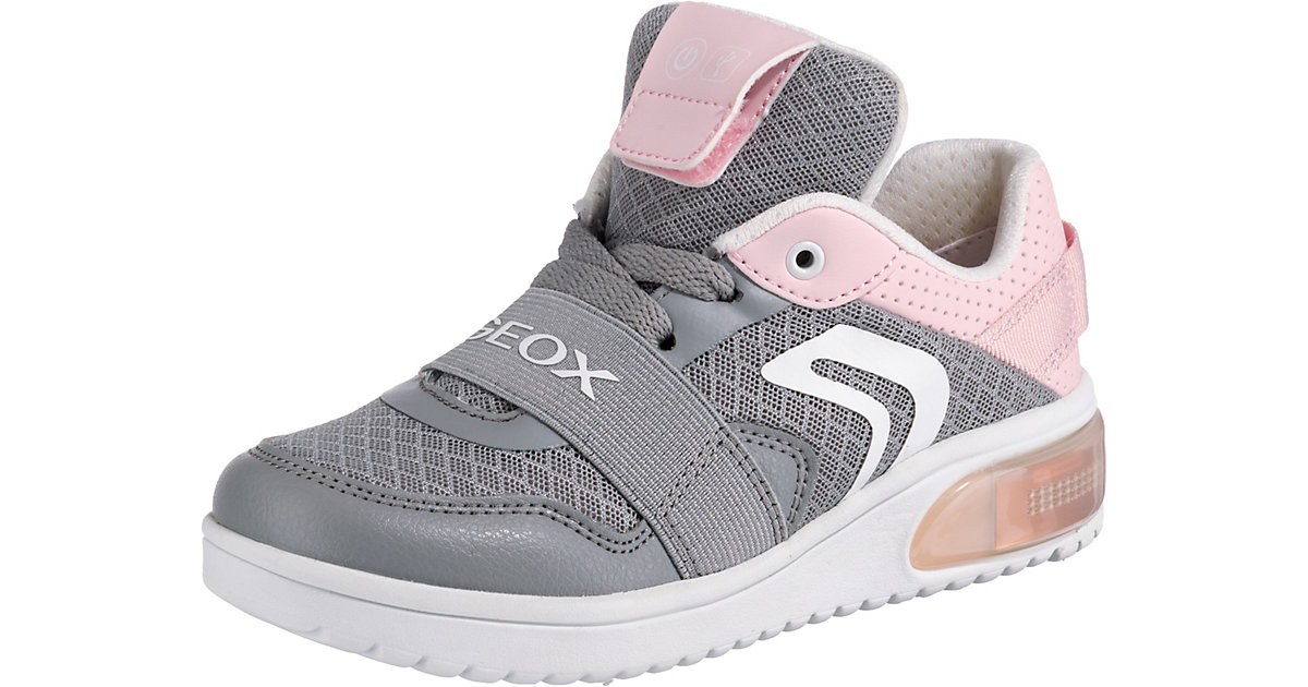 GEOX · Sneakers Low Blinkies XLED Girl mit LED Sohle Gr. 38 Mädchen Kinder