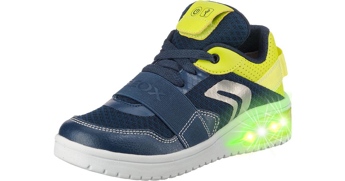 GEOX · Sneakers Low Blinkies XLED BOY , mit LED Sohle Gr. 37 Jungen Kinder