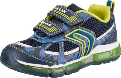 Кроссовки GEOX - синий/зеленый