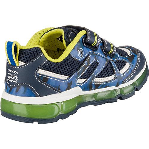 Кроссовки GEOX - синий/зеленый от GEOX