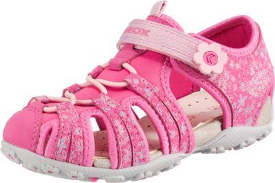 geox Kinderschuhe, Blinkies rosa 27,29,30,32,33,34, Textil