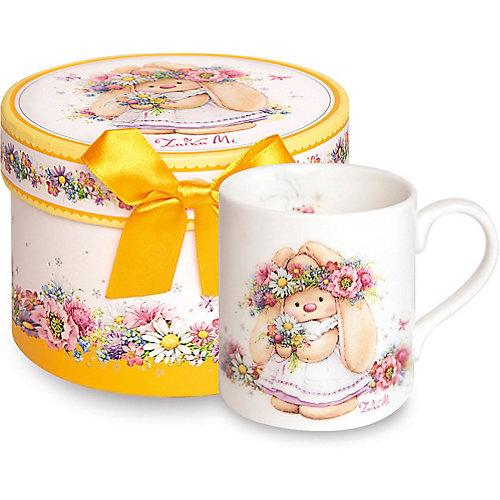 Кружка Budi Basa Зайка Ми в веночке - желтый от Budi Basa