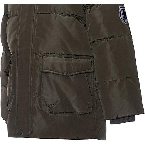 Утепленная куртка Name It - темно-зеленый от name it