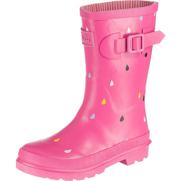 finest selection 75748 1ca4b Gummistiefel Pink Raindrops für Mädchen, Tom Joule