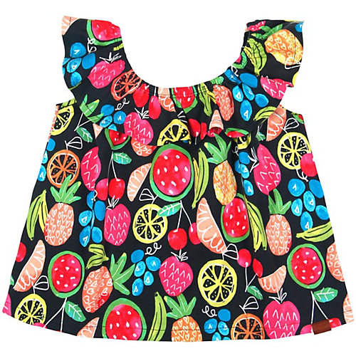 BÒBOLI T-Shirt mit Carmen-Ausschnitt Gr. 116 Mädchen Kinder | 08434484312564