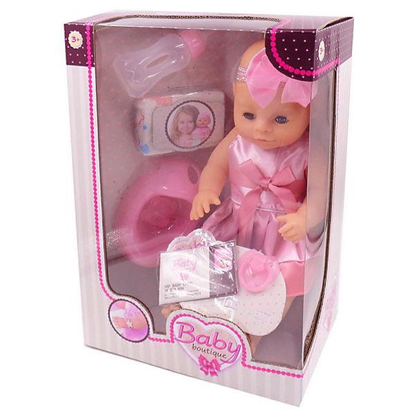 "Интерактивная кукла Dimian ""Baby Boutique"" пьёт и писает, 40 см с аксессуарами"